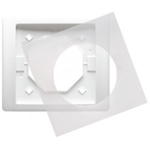 Simon Basic Neos BMRC1B/11 - Ramka pojedyncza hermetyczna Neos - Biały - Podgląd zdjęcia producenta