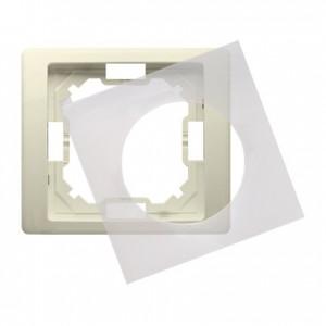 Simon Basic Neos BMRC1B/12 - Ramka pojedyncza hermetyczna Neos - Beżowy - Podgląd zdjęcia producenta