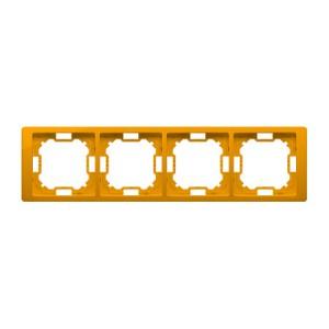 Simon Basic BMRC4/034 - Ramka poczwórna Neos - Słoneczny - Podgląd zdjęcia producenta