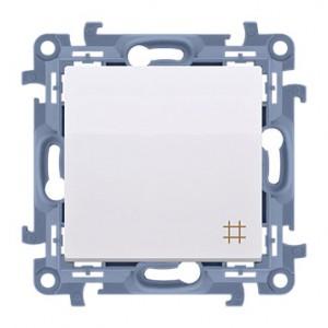 Simon 10 CW7.01/11 - Łącznik krzyżowy 10A - Biały - Podgląd zdjęcia producenta