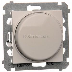 Simon 54 DS9L.01/11 - Ściemniacz naciskowo-obrotowy do LED - Biały - Podgląd zdjęcia producenta
