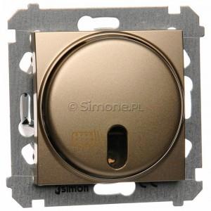 Simon 54 DWP10T.01/44 - Łącznik zdalnie sterowany 20-500W - Złoty Mat - Podgląd zdjęcia producenta